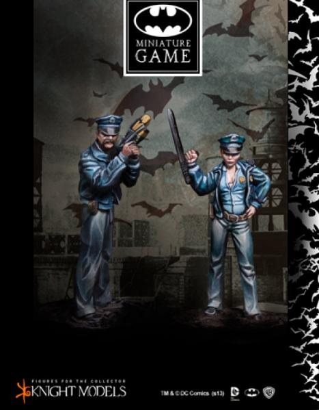 Batman Miniature Game: Gotham Police Set 2