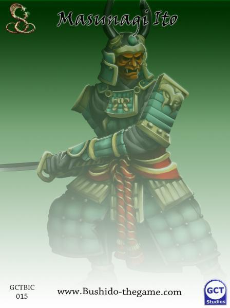 Bushido Miniatures: (Ito Clan) Masunagi Ito, Samurai