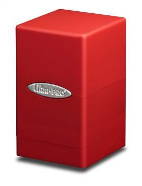 Ultra Pro: Red Satin Tower Deck Box v. 2