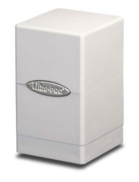 Ultra Pro: White Satin Tower Deck Box v.2