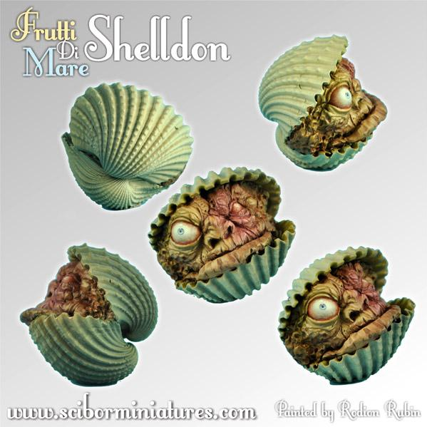 28mm Fantasy Miniatures: Frutti Di Mare Shelldon