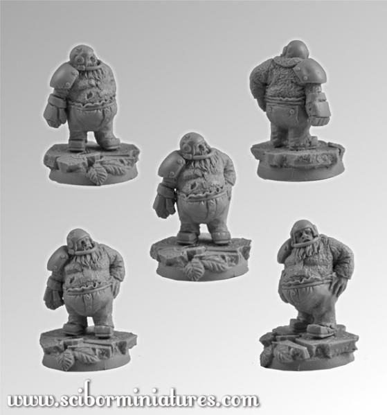 28mm Fantasy Football: 28mm/30mm Dwarf Player #1