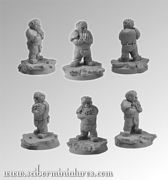 28mm Fantasy Football: 28mm/30mm Dwarf Player # 2