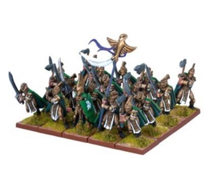 Kings Of War - Elves: Palace Guard Regiment (20)