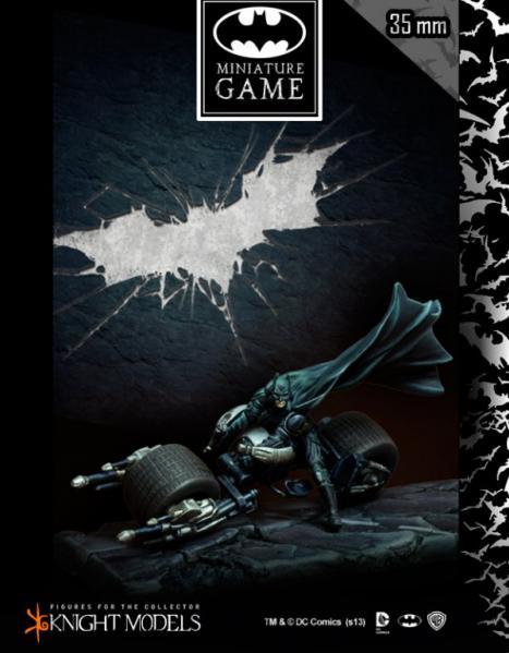 Batman Miniature Game: Batman on Bat-Pod