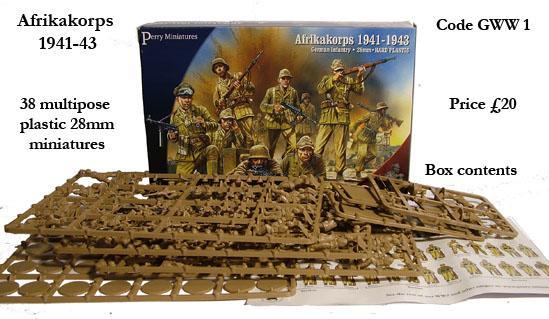 28mm World War II: (German) Afikakorps 1941-1943