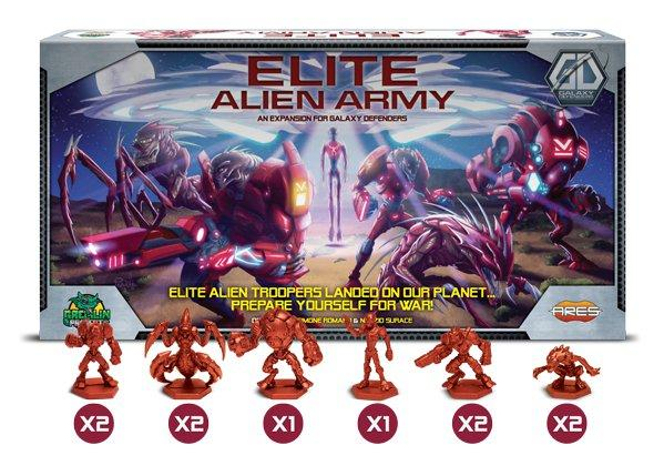 Galaxy Defenders Expansion: Elite Alien Army