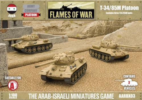 Flames Of War (Arab/Israeli War): (Arab) T-34/85M