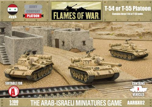 Flames Of War (Arab/Israeli War): (Arab) T-54/T-55