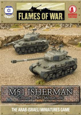 Flames Of War (Arab/Israeli War): (Israeli) M51 Isherman