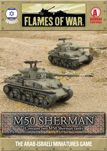 Flames Of War (Arab/Israeli War): (Israeli) M50 Sherman