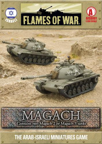 Flames Of War (Arab/Israeli War): (Israeli) Magach