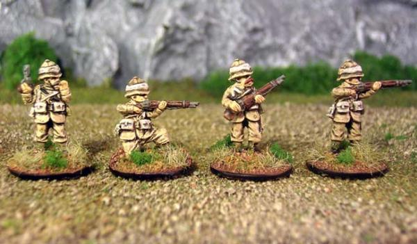 15mm Pulp Adventures: Pulp British Infantry