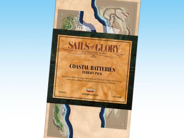 Sails of Glory - Terrain Pack: Coastal Batteries