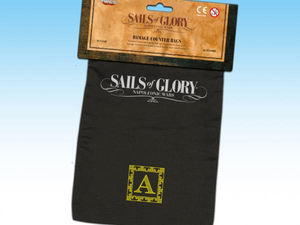 Sails of Glory: Damage Counter Bags