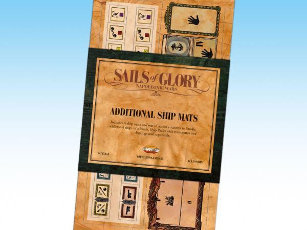 Sails of Glory: Additional Ship Mats
