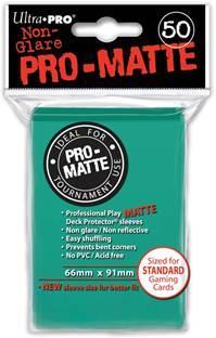 Ultra-Pro: Pro-Matte Standard Aqua Deck Protector  (50)