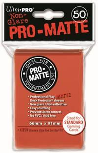 Ultra-Pro: Pro-Matte Standard Peach Deck Protector  (50)