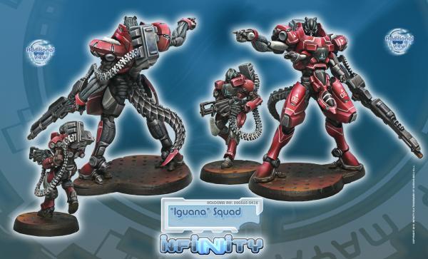 Infinity (#438) Nomads: Iguana Squadron