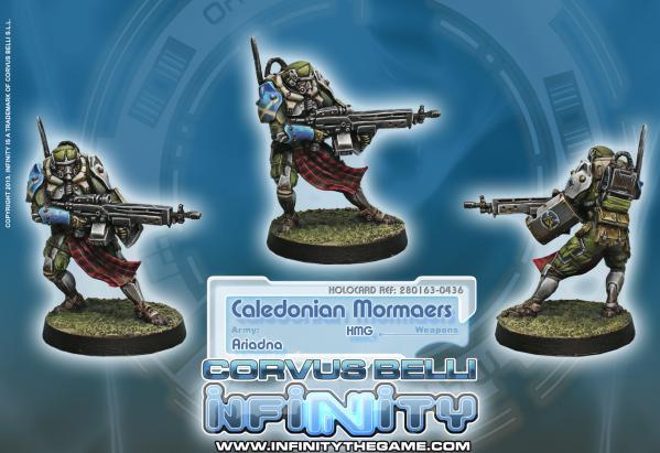 Infinity (#436) Ariadna: Caledonian Mormaer (AP HMG)