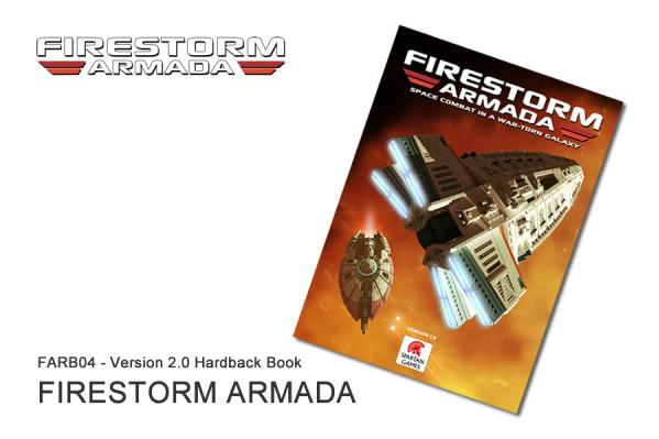 Firestorm Armada: Master Rulebook (HC) [NEW VERSION]