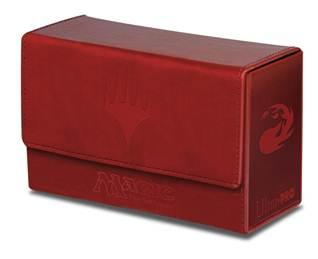 Magic The Gathering: Mana Dual Flip Deck Box Red