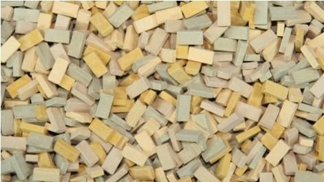 28mm Terrain Accessories: Bricks (Beige Mix)