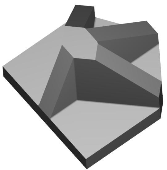 1/35 Terrain Accessories: Anti Tank Obstacles ''P1'' (3)