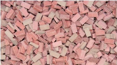 1/35 Terrain Accessories: Bricks (Red Mix)