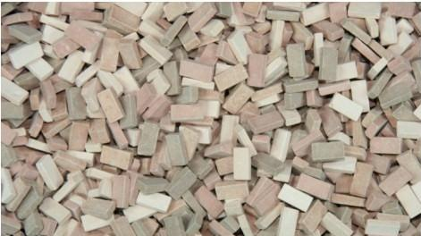 1/35 Terrain Accessories: Bricks (Terracotta Mix)