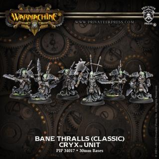 Warmachine: (Cryx) Bane Thralls (10)