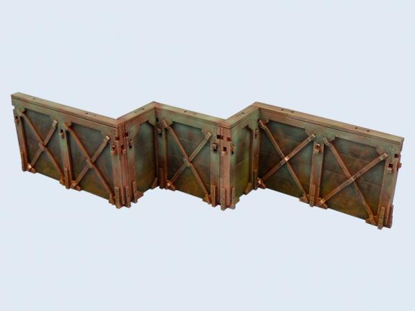 Wolsung Steampunk Game: XIX Century Walls