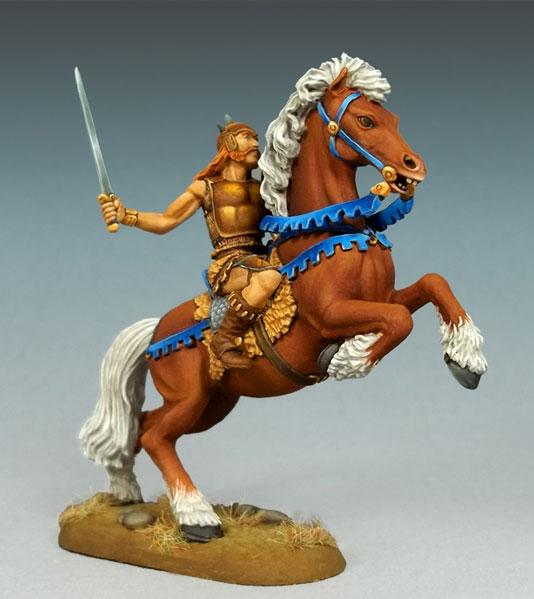 Elmore Masterworks: Mounted Male Warrior