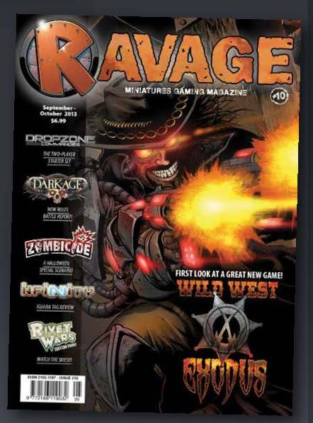 Ravage Magazine #10 (English Edition)