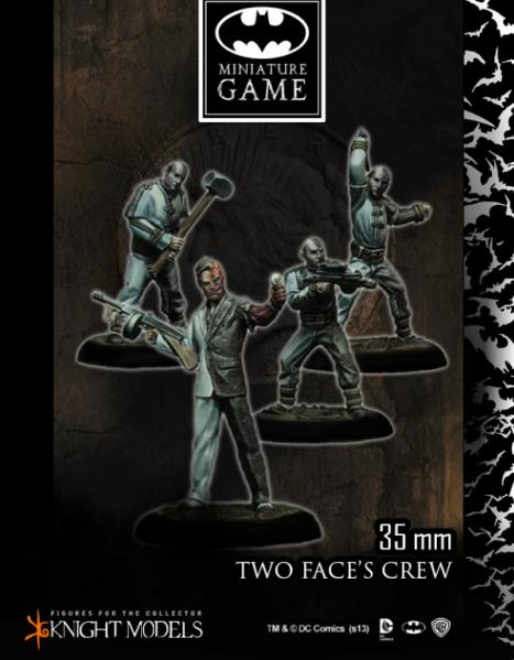 Batman Miniature Game: Two Face's Crew