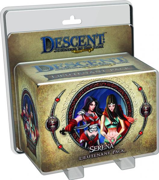 Descent: Serena Lieutenant Pack