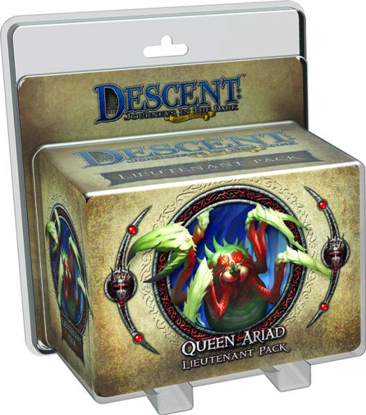 Descent: Queen Ariad Lieutenant Pack