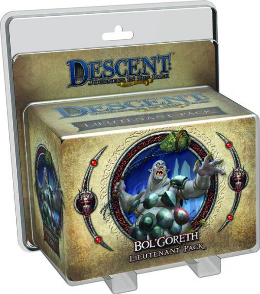 Descent: Bol'Goreth The Troll Lieutenant Pack