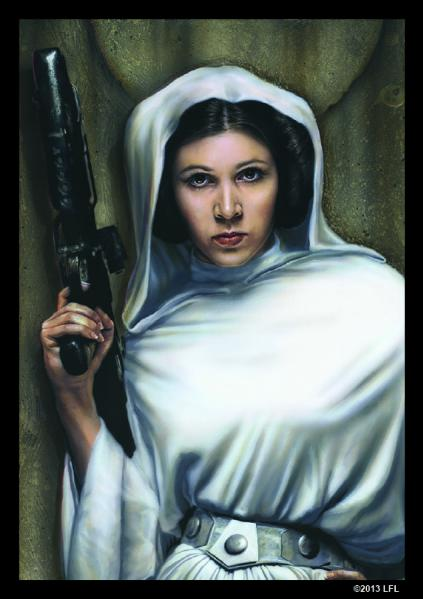 Star Wars LCG: Princess Leia Art Sleeves (50)