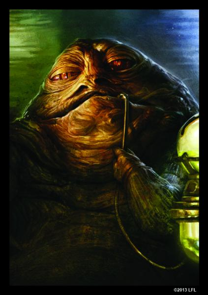 Star Wars LCG: Jabba the Hutt Art Sleeves (50)