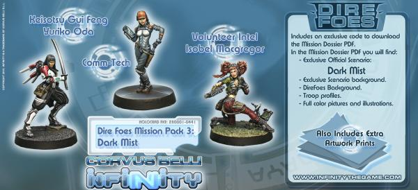 Infinity (#441) Dire Foes Mission Pack 3: Dark Mist