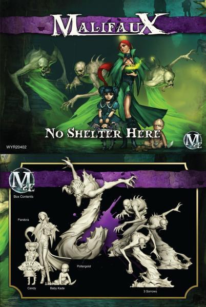 (The Neverborn) No Shelter Here (Pandora Crew Box Set)