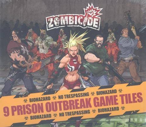 Zombicide: Prison Outbreak Tile Pack