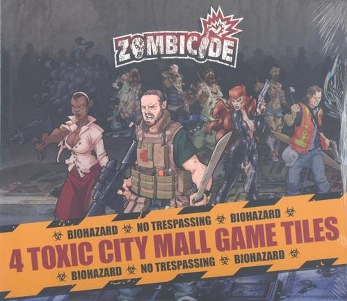 Zombicide: Toxic City Mall Tile Pack