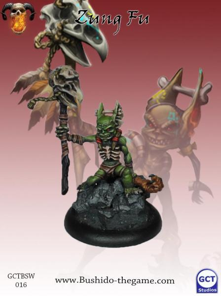 Bushido Miniatures: (Savage Wave) Zung Fu