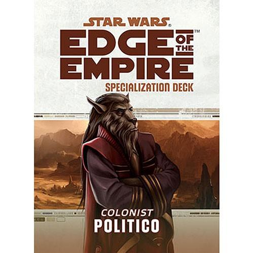 Edge of the Empire RPG: Specialization Deck - Politico