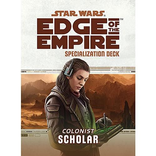 Edge of the Empire RPG: Specialization Deck - Scholar
