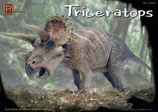 1/32 Scale: Triceratops