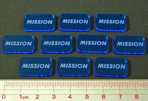 Space Wing: Mission Tokens (10)
