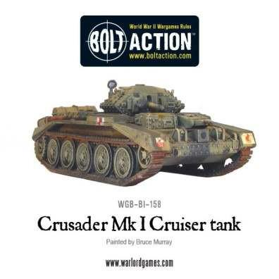 Bolt Action: (British) Crusader Tank